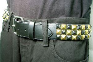 belt - 3 row Design-My-Own (3Row checkered pyramid)