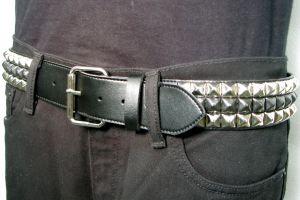 belt - 3 row Design-My-Own (3Row banded pyramid)