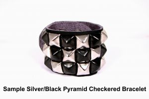 design your own studded wristband