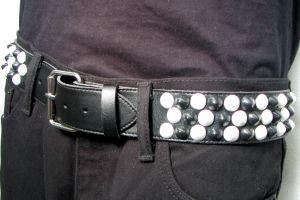 belt - 3 row Design-My-Own (3Row checkered cone)